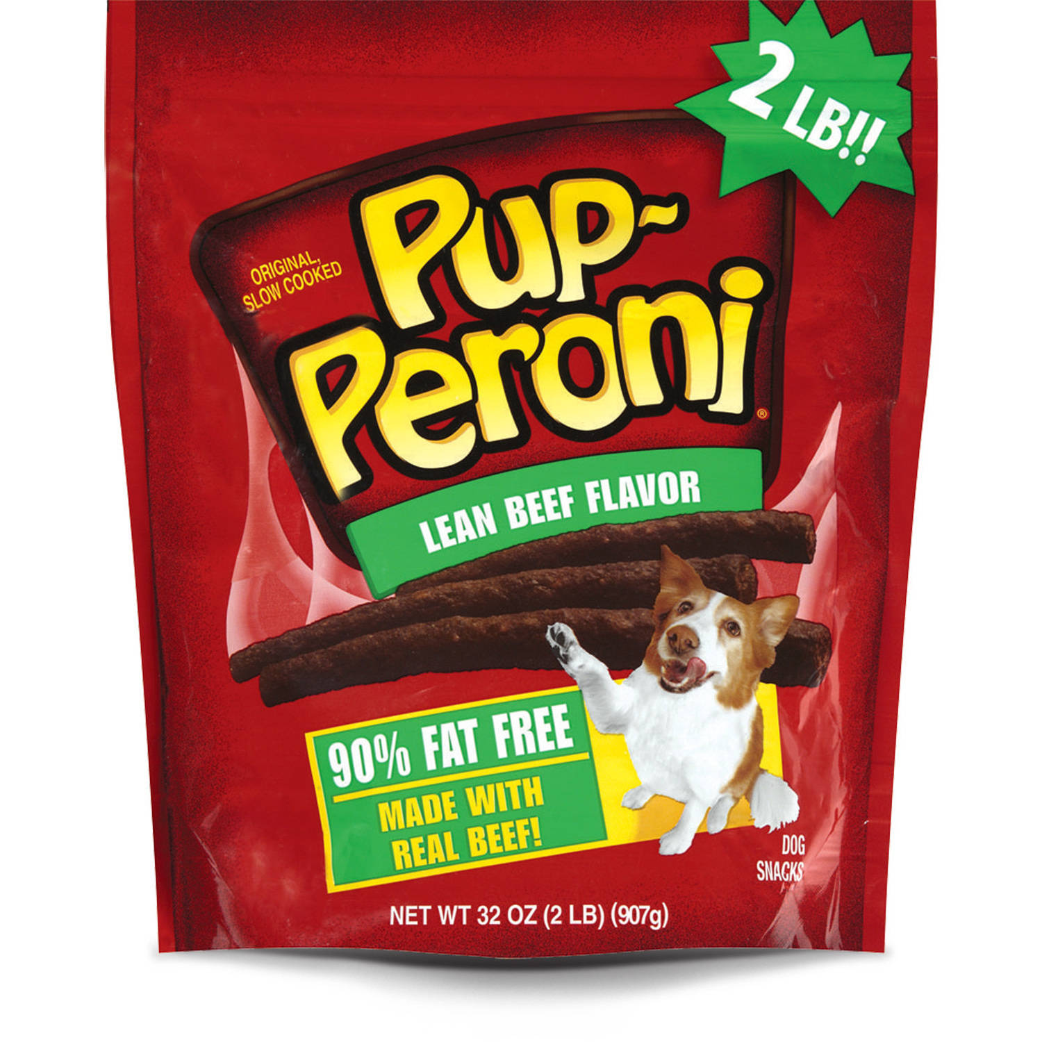 Pup-Peroni Lean Beef Flavor Dog Snacks, 32-Ounce
