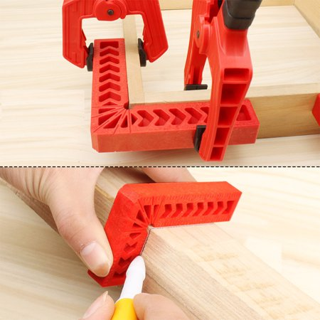 Positioning Roller - Woodworking Right Angle Ruler Locator Positioning Block Fixed Clamp Measuring Tool