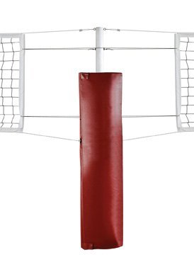 First Team FT5010CP Foam-vinyl Volleyball Center Post Pad44; Scarlet by