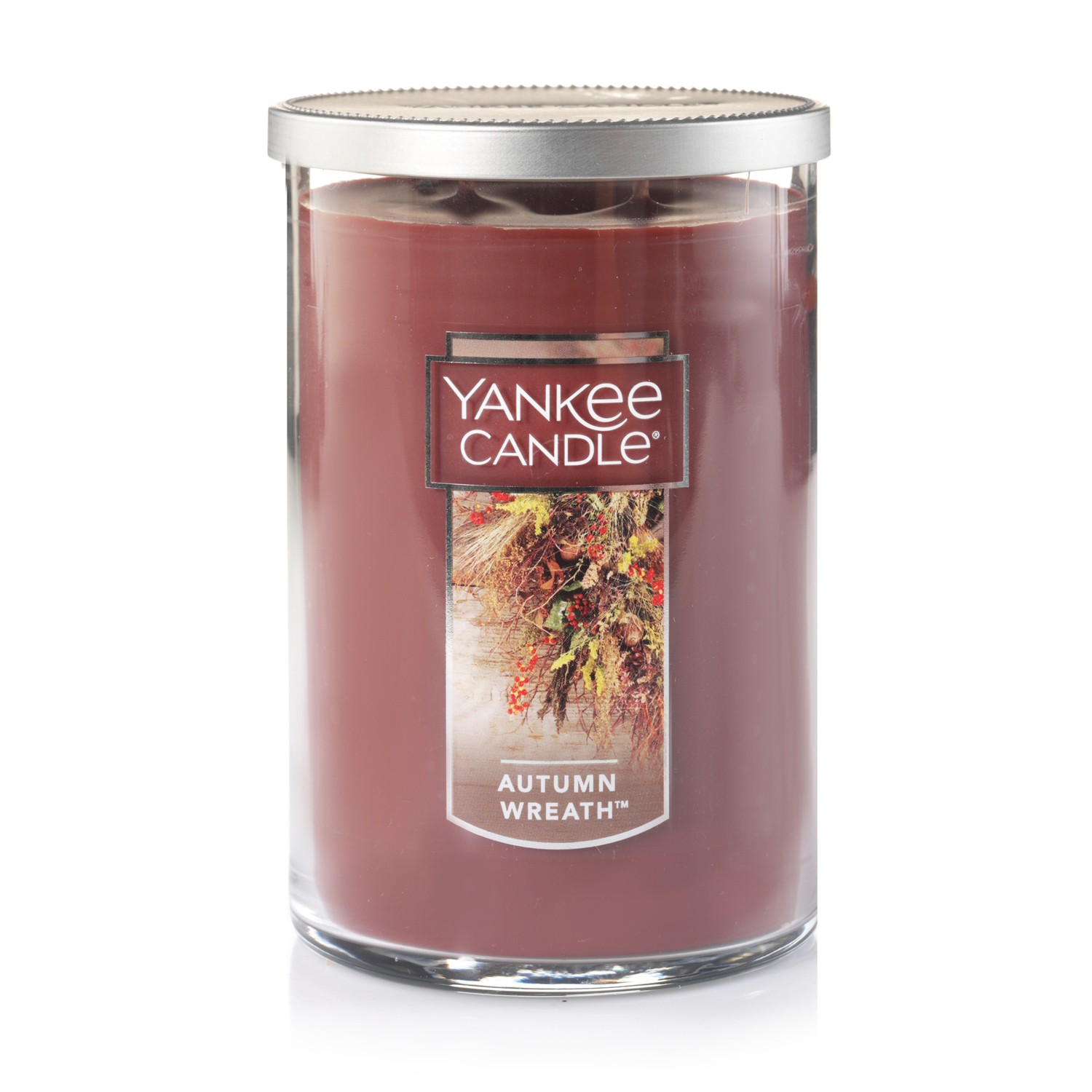 Yankee Candle Large 2-Wick Tumbler Scented Candle, Autumn Wreath