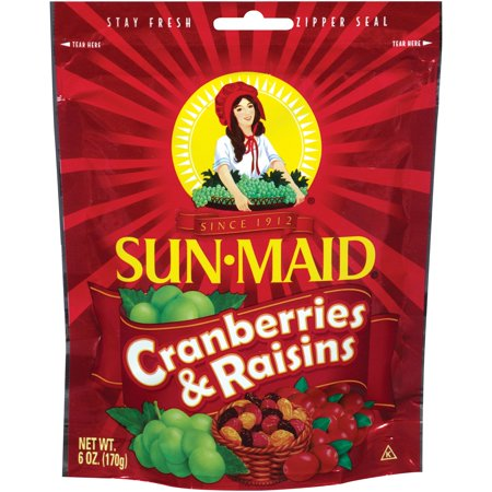 Sun-Maid ® Cranberries & Raisins, 6 Oz Bag