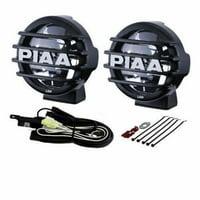 PIAA LP560 6 Inch LED Driving Light Kit, SAE Compliant - 5672