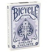 Bicycle Cyclist Blue Playing Cards