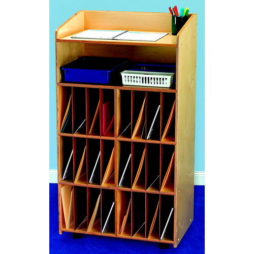 Bird in Hand Communication Center 24 Compartment Cubby