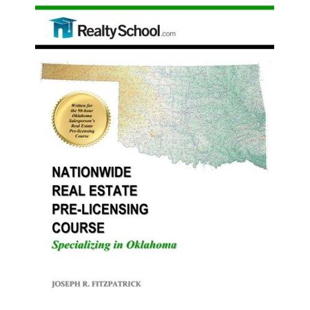 Nationwide Real Estate Pre Licensing Course  Specializing In Oklahoma