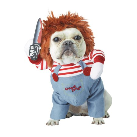 Deadly Doll Pet Halloween Costume - Chuckie Doll Costume