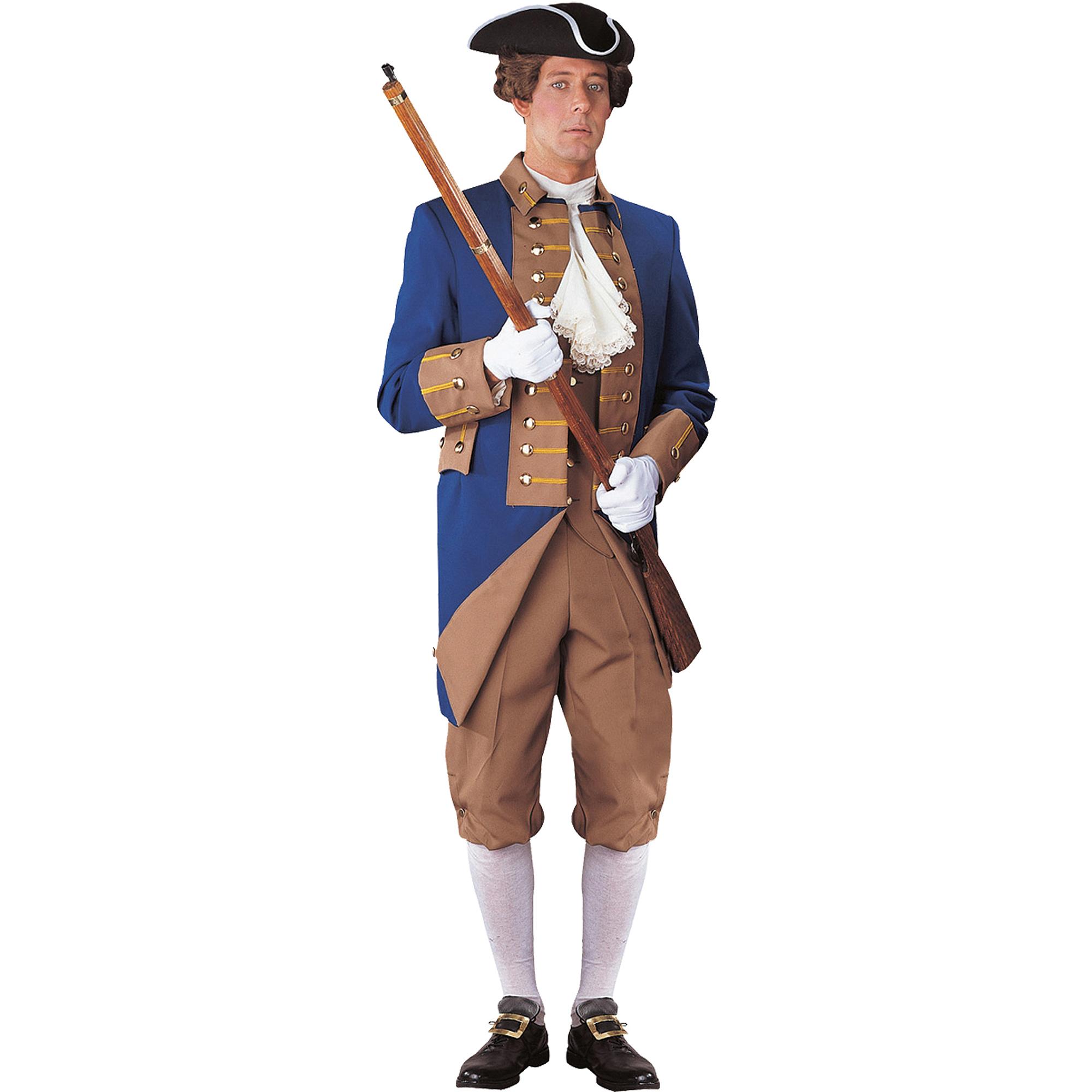 American Revolution Officer Adult Halloween Costume