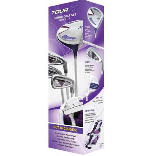 Merchants of Golf Tour X Purple Size 2 Ages 8-11 5pc Jr S...