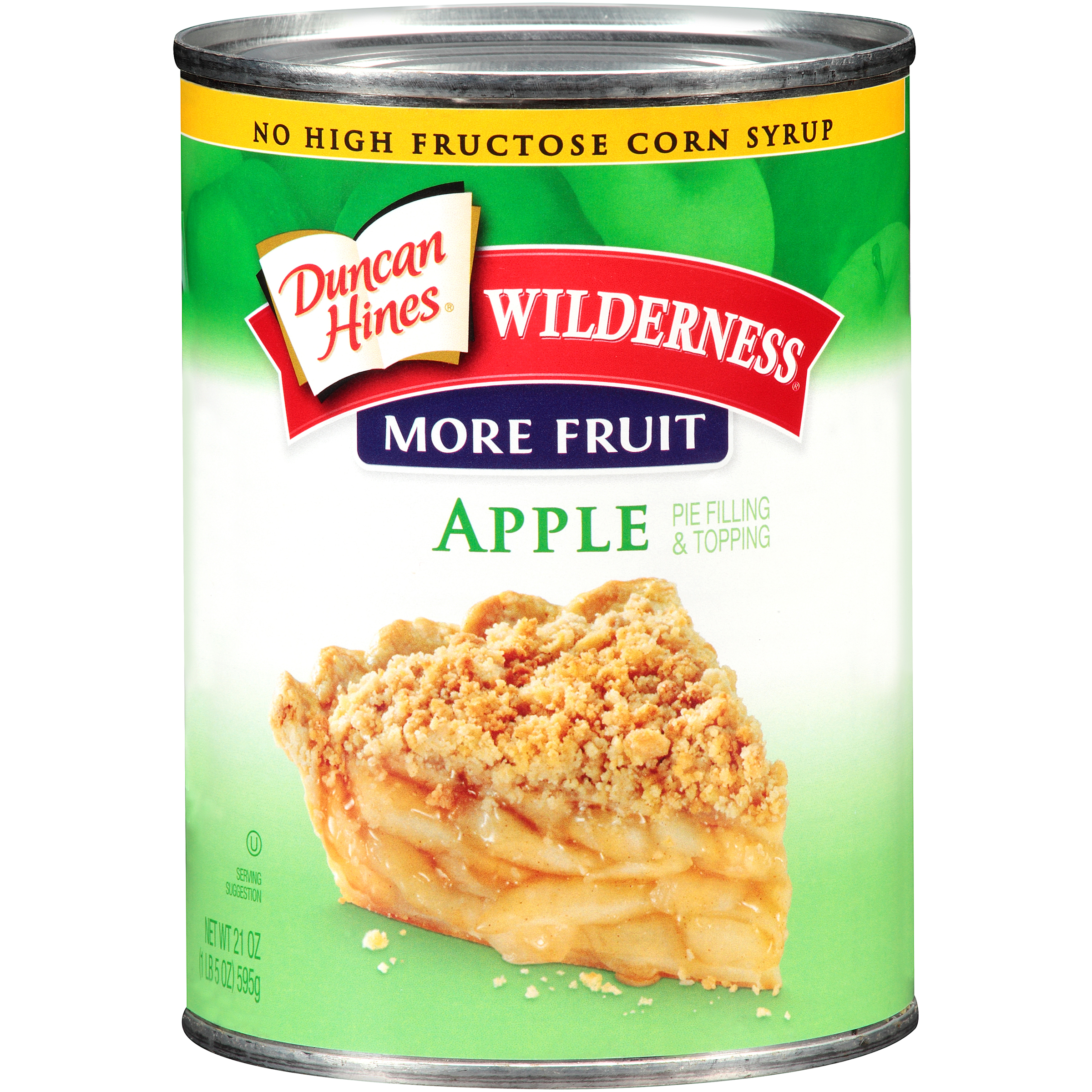 Duncan Hines��Wilderness�� More Fruit Apple Pie Filling & Topping 21 oz. Can
