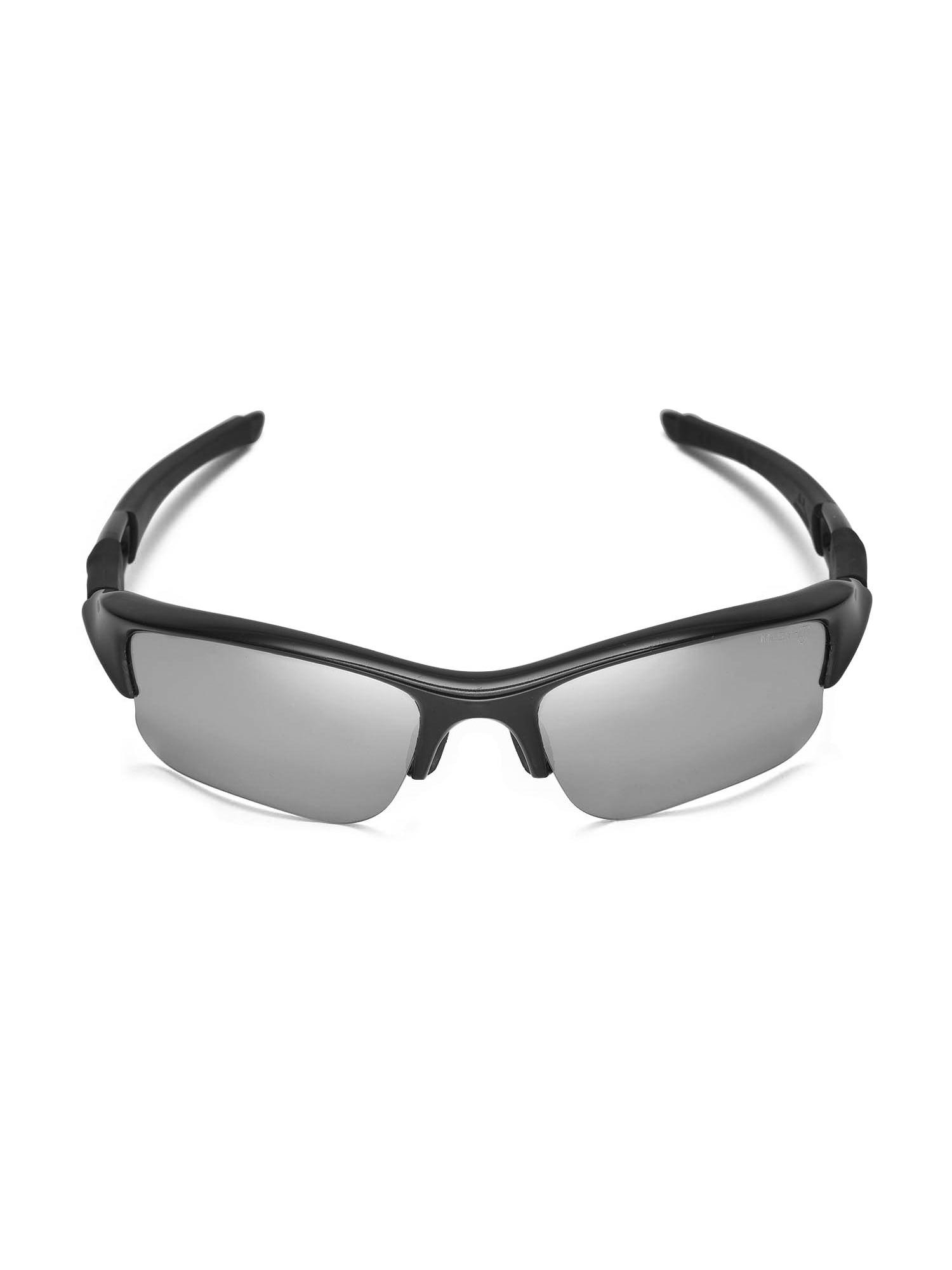 8f3c8247ec7 Walleva - Walleva Transition Photochromic Polarized Replacement Lenses And  Black Rubber Kit For Oakley Flak Jacket XLJ Sunglasses - Walmart.com