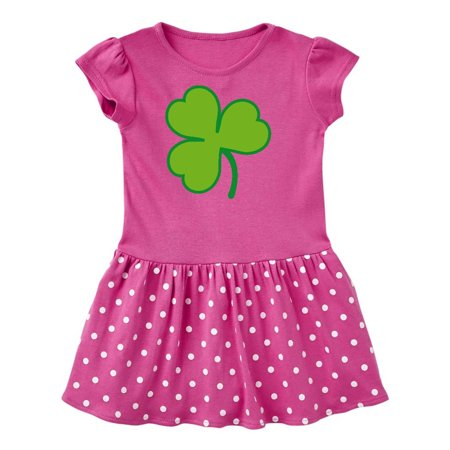 Shamrock Clover Irish St Patricks Day Toddler Dress - St Patricks Day Dresses