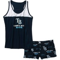 MLB Women's Tampa Bay Rays Tank Top and Shorts Set