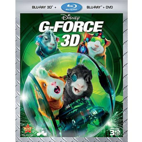 G-Force (Blu-ray 3D + Blu-ray + DVD) (Widescreen)