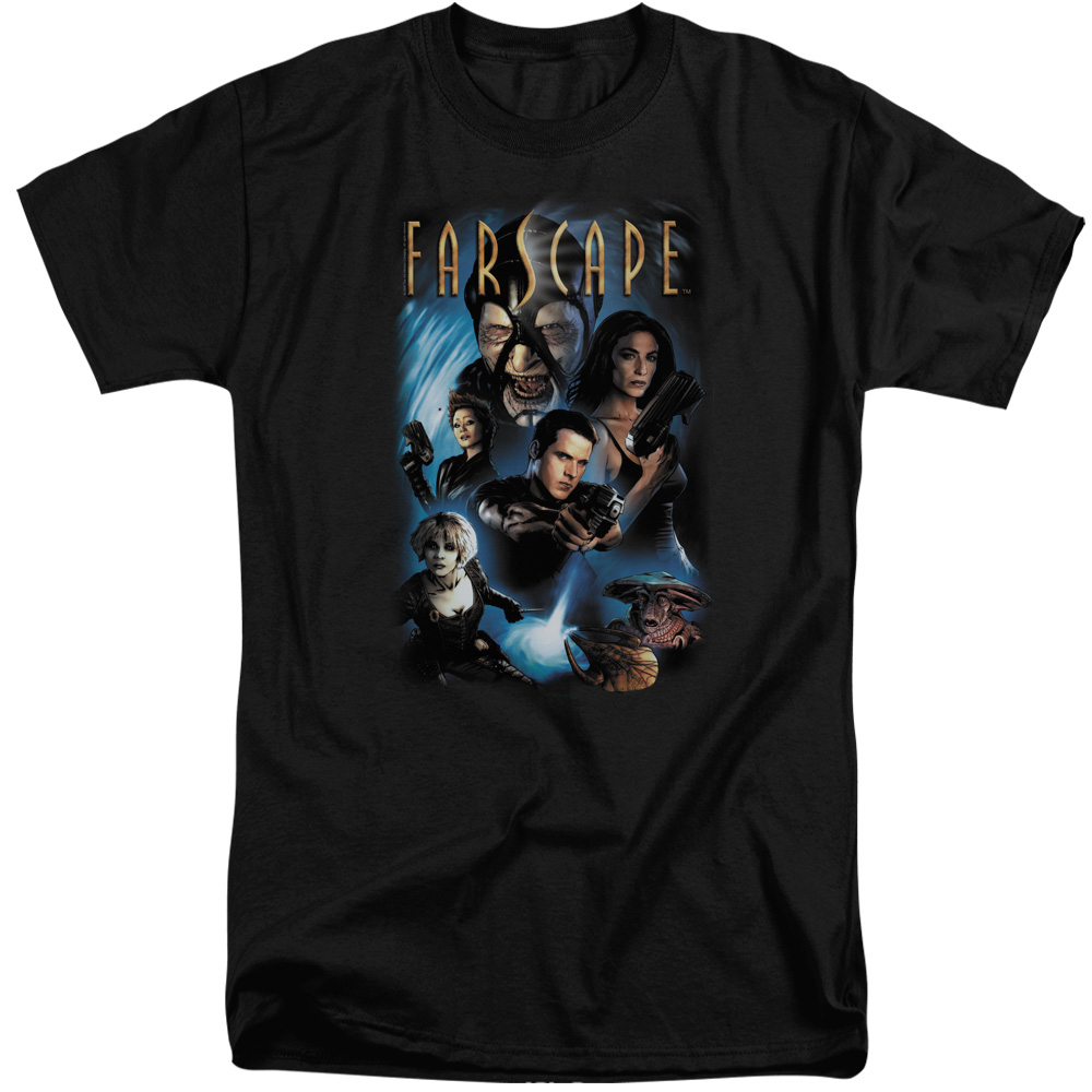 Farscape Comic Cover Mens Big and Tall Shirt