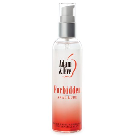 Adam   Eve Forbidden Anal Water Based Lube   4Oz