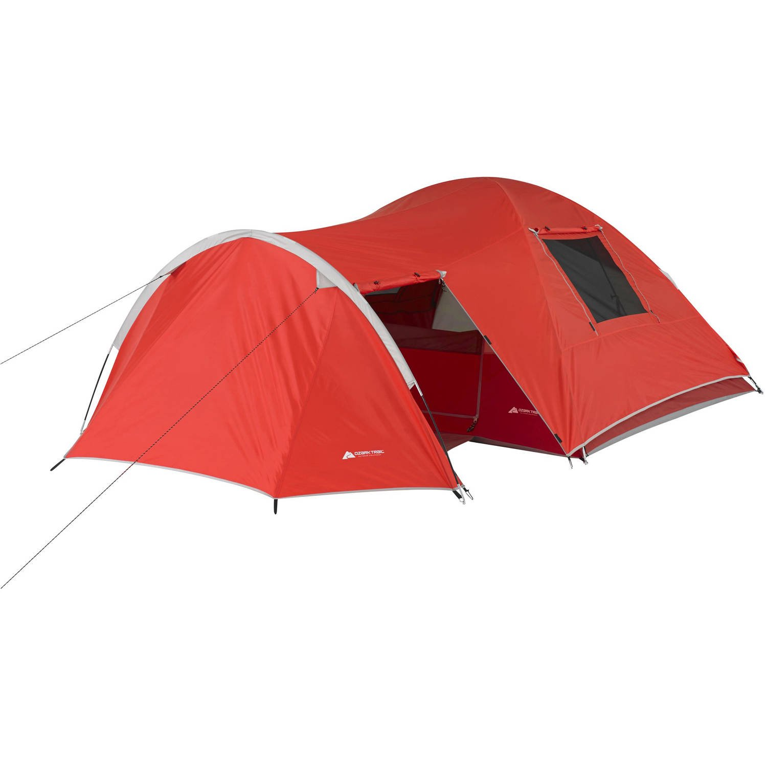 Ozark Trail 4-Person Dome Tent with Vestibule and Full Coverage Fly  sc 1 st  Walmart.com : tent with vestibule - memphite.com