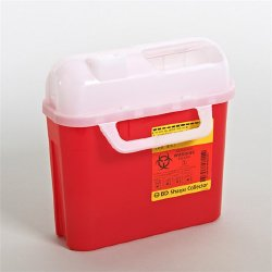 Container, Sharps Side-Entry Red 5.4Qt  (Units Per Case: 20)
