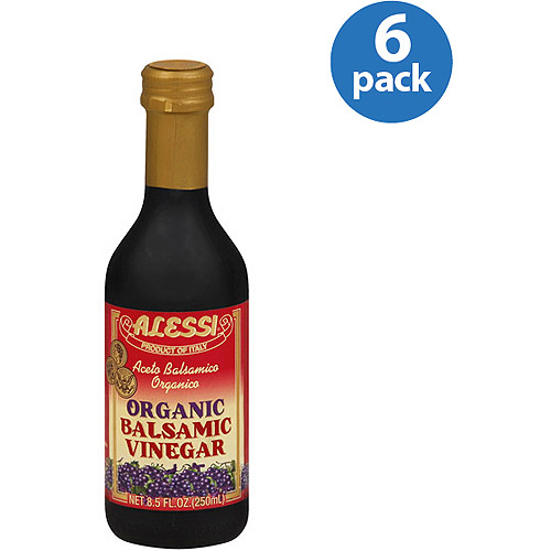 Alessi Organic Balsamic Vinegar, 8.5 oz, (Pack of 6)