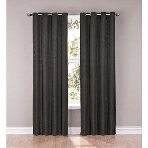 Eclipse Casey Blackout Energy-Efficient Grommet Polyester Window Panel