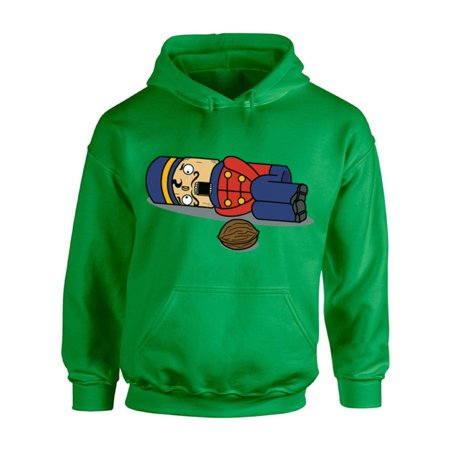 Awkward Styles Nutcracker Christmas Sweatshirt Xmas Hoodie Ugly Christmas Sweater Christmas Nutcracker Christmas Sweatshirt for Men for Women Christmas Hooded Sweatshirt Xmas Holiday Party Sweater ()
