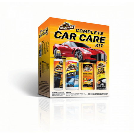 Armor All Complete Car Care Kit (4 Pieces), Car