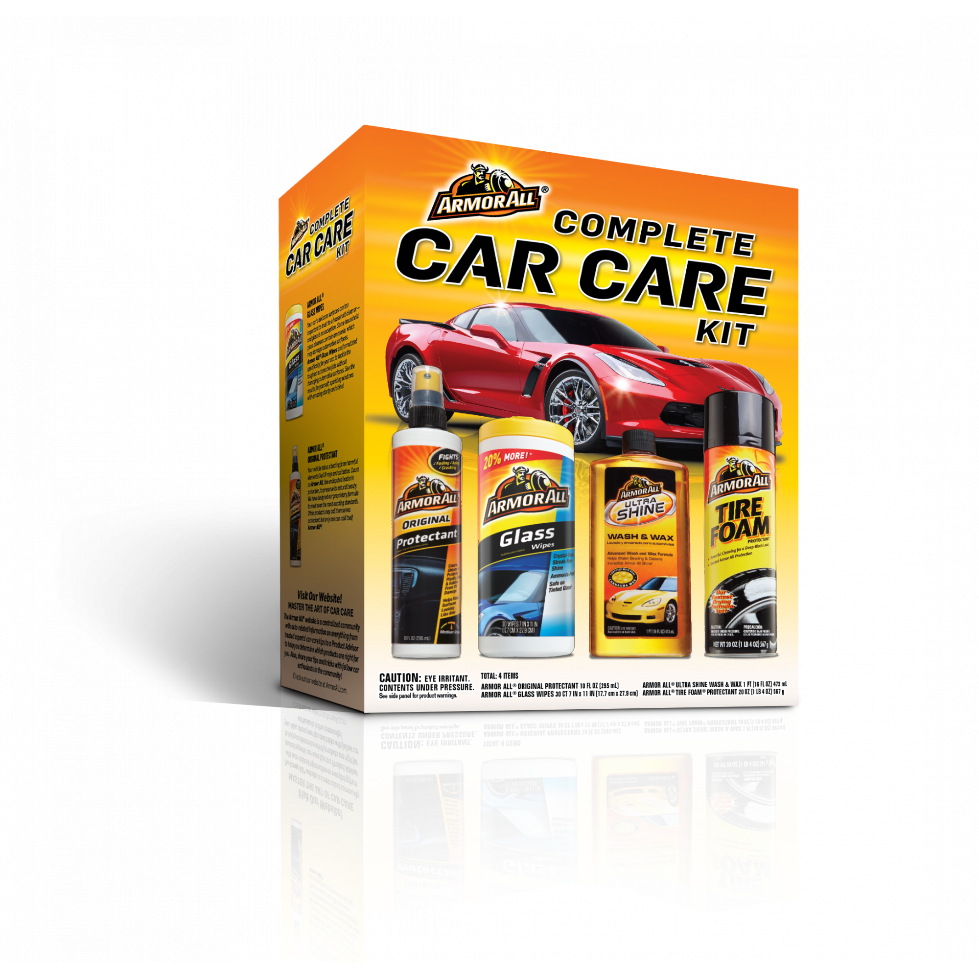 Two Armor All Complete Car Care Kit Bundle