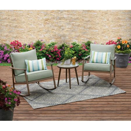 Better Homes & Gardens Roxbury 3 Piece Cushion Rocking Chair Set