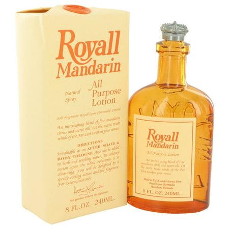 - Royall Fragrances Royall Mandarin All Purpose Lotion / Cologne for Men 8 oz