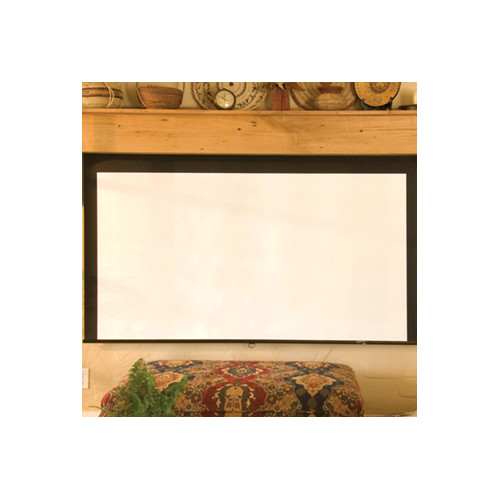 Draper Silhouette Series M Pearl White Electric Projection Screen
