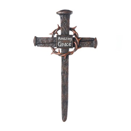 Cross For Walls, Crown Of Thorns Christian Art Hanging Small Decor Wall Cross