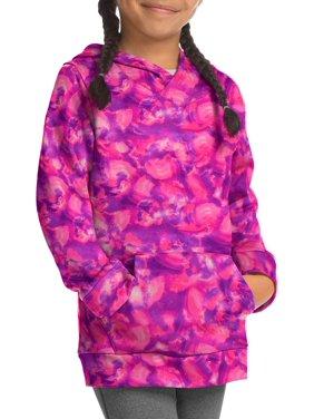 Hanes Girls Sport Tech Fleece Raglan Hoodie, Sizes 4-16