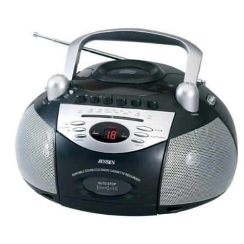 Jensen Cd-545 Portable Stereo Cd Player With Cassette Recorder & Am fm Radio by Jensen