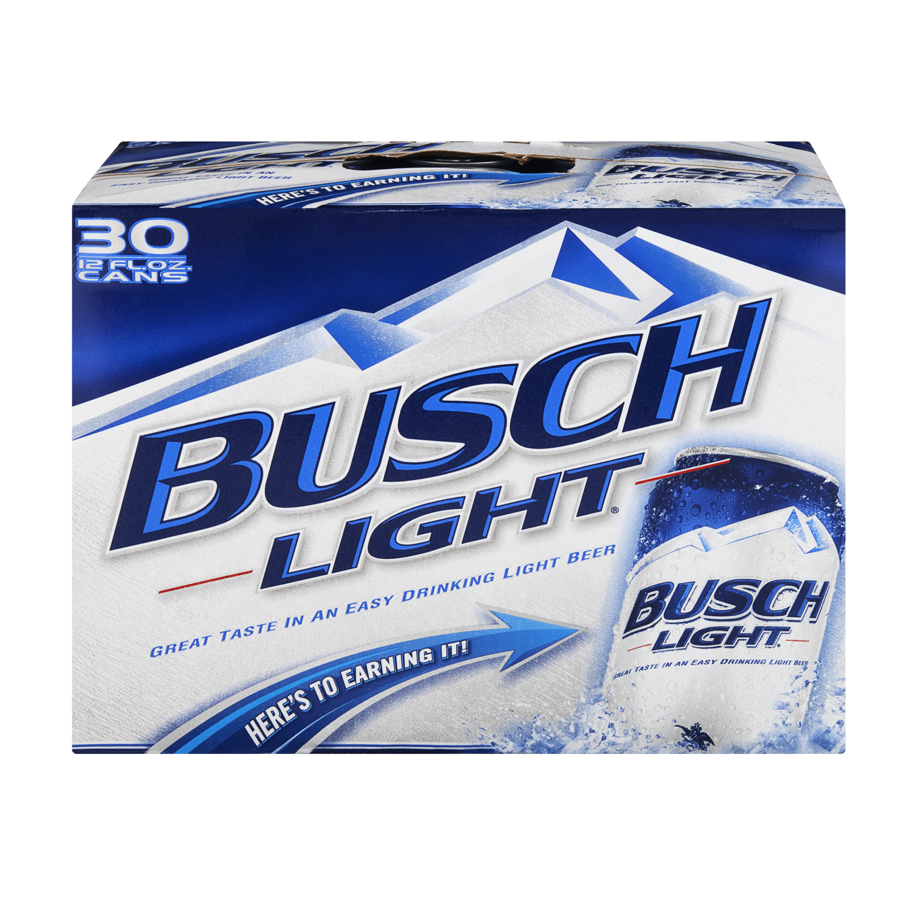 Busch Light Beer Cans - 30 CT12.0 FL OZ