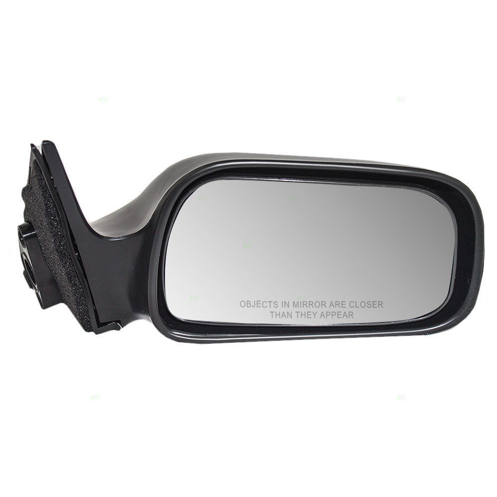 Passengers Manual Side View Mirror Replacement For Toyota Camry