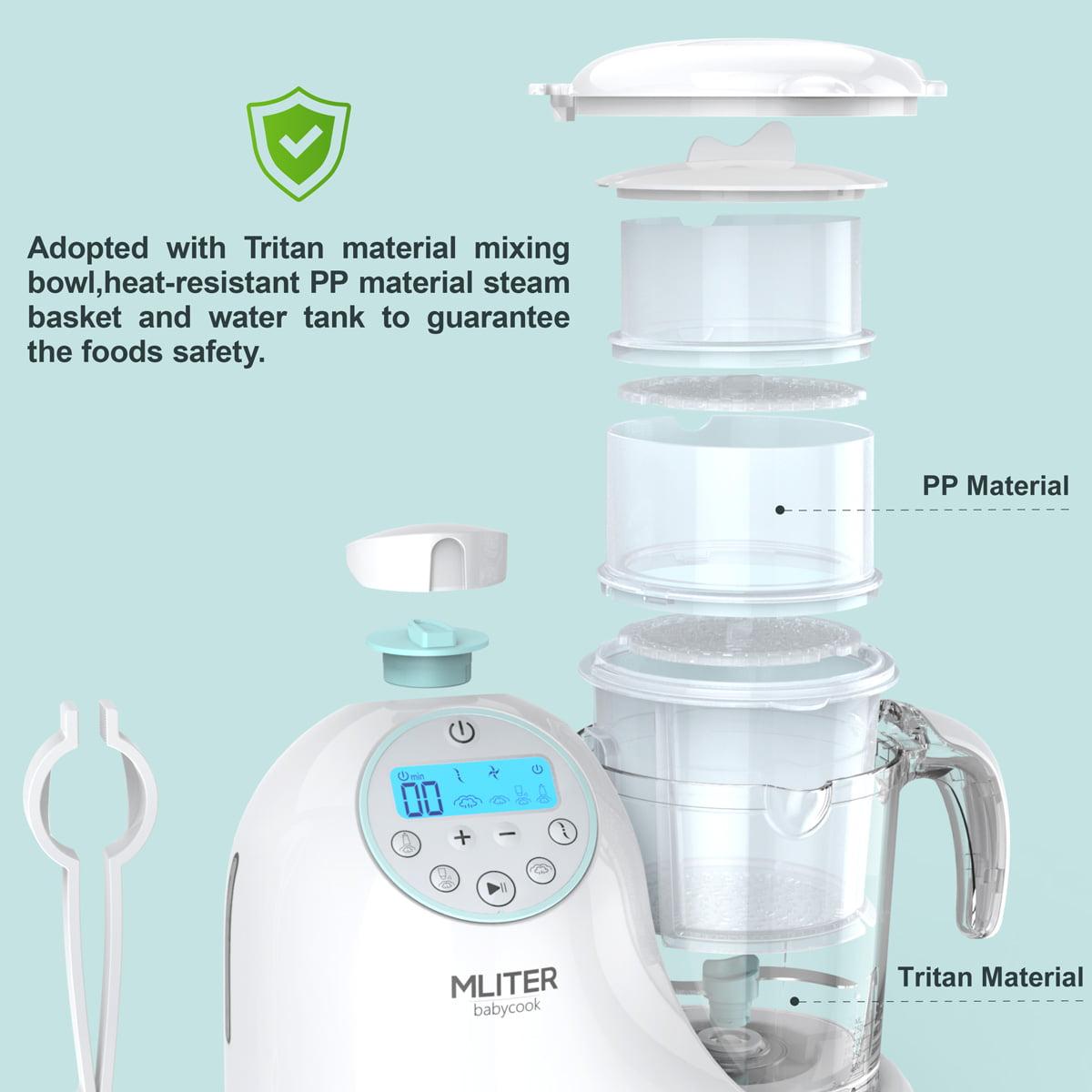 Mliter 5 in 1 Baby Food Processor/Maker - Walmart.com