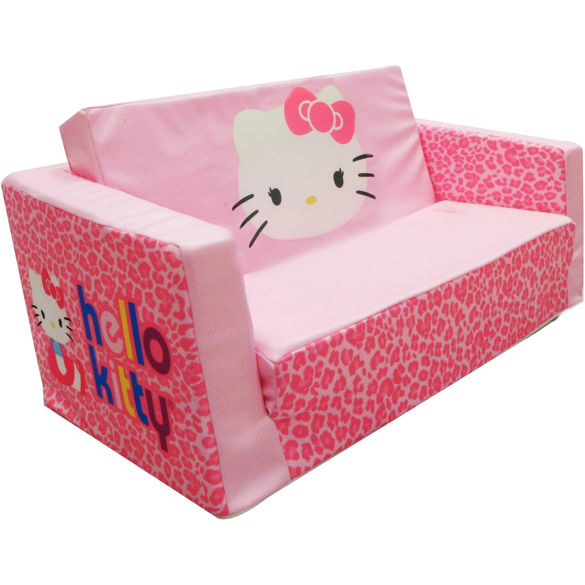 Hello Kitty Bows Small Flip Sofa