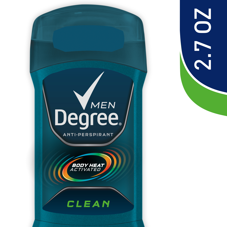 Degree Men Dry Protection Clean Antiperspirant Deodorant 2.7 oz