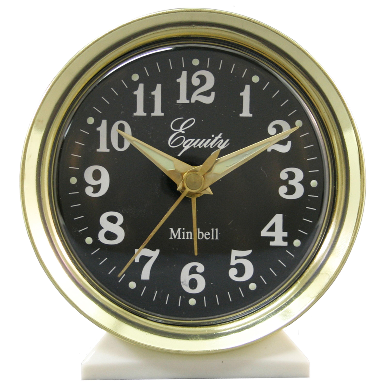 Equity By La Crosse 12020 Analog Keywind Alarm Clock by Equity by La Crosse