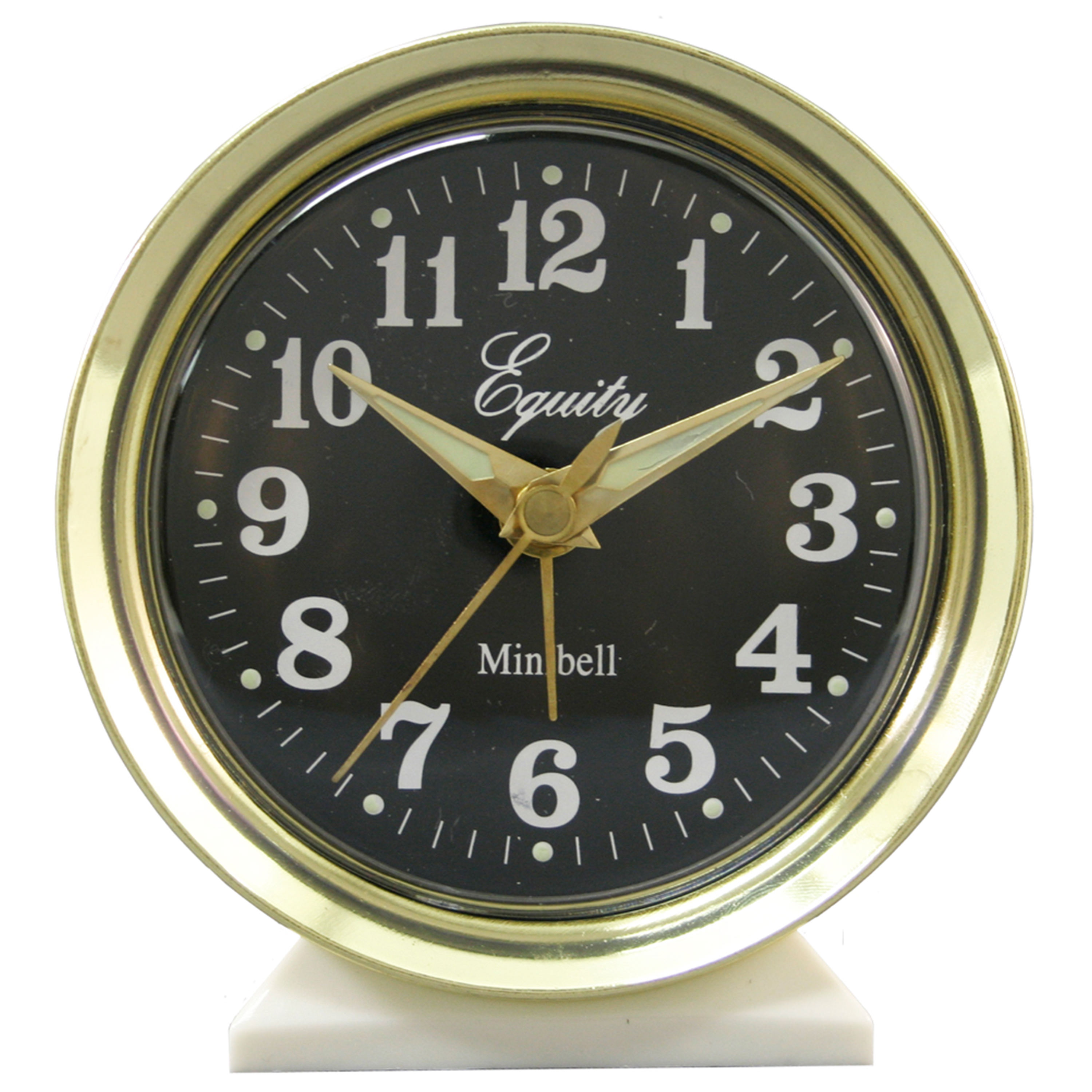 Equity By La Crosse 12020 Analog Keywind Alarm Clock