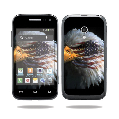 Mightyskins Protective Vinyl Skin Decal Cover for Samsung Galaxy Rush Cell Phone M830 Boost Mobile wrap sticker skins Eagle Eye