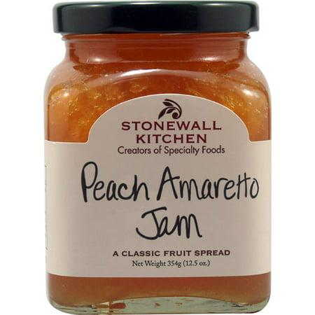 Stonewall Kitchen Jam Peach Amaretto -- 12.5 oz pack of