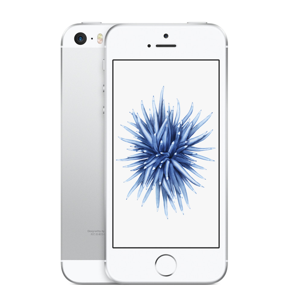 Straight Talk Apple iPhone SE 16GB Prepaid Smartphone, Silver