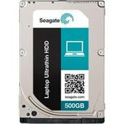 "Seagate Laptop Ultrathin HDD ST500LT033 - Hard drive - encrypted - 500 GB - internal - 2.5"" - SATA 6Gb/s - 5400 rpm - buffer: 16 MB - Self-Encrypting Drive (SED)"