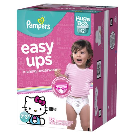 0104d2f202f Pampers Easy Ups Training Underwear Girls Size 4 2T-3T 132 Count ...