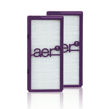 Holmes aer1 True HEPA Air Filter, 2 Count (Best Hepa Air Filters)