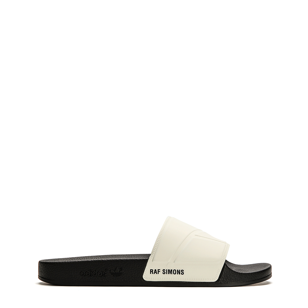Adidas x Raf Simons Adilette Bunny Slide Sandals BY9814 Cream White Core Black by