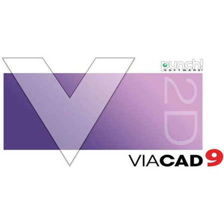 WD Encore 8114918 Punch ViaCAD 2D V9 for PC (Email
