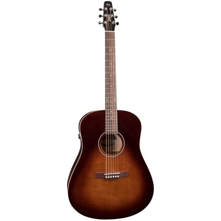 Seagull Seagull S6 Original Burnt Umber QIT Acoustic-Electric Guitar,