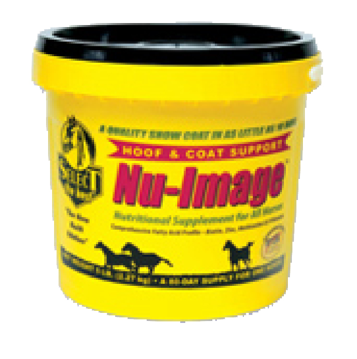 NU-IMAGE HOOF & COAT SUPPORT FOR HORSES