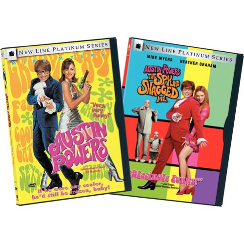 Austin Powers: International Man of Mystery Austin Powers: The Spy Who Shagged Me by TIME WARNER